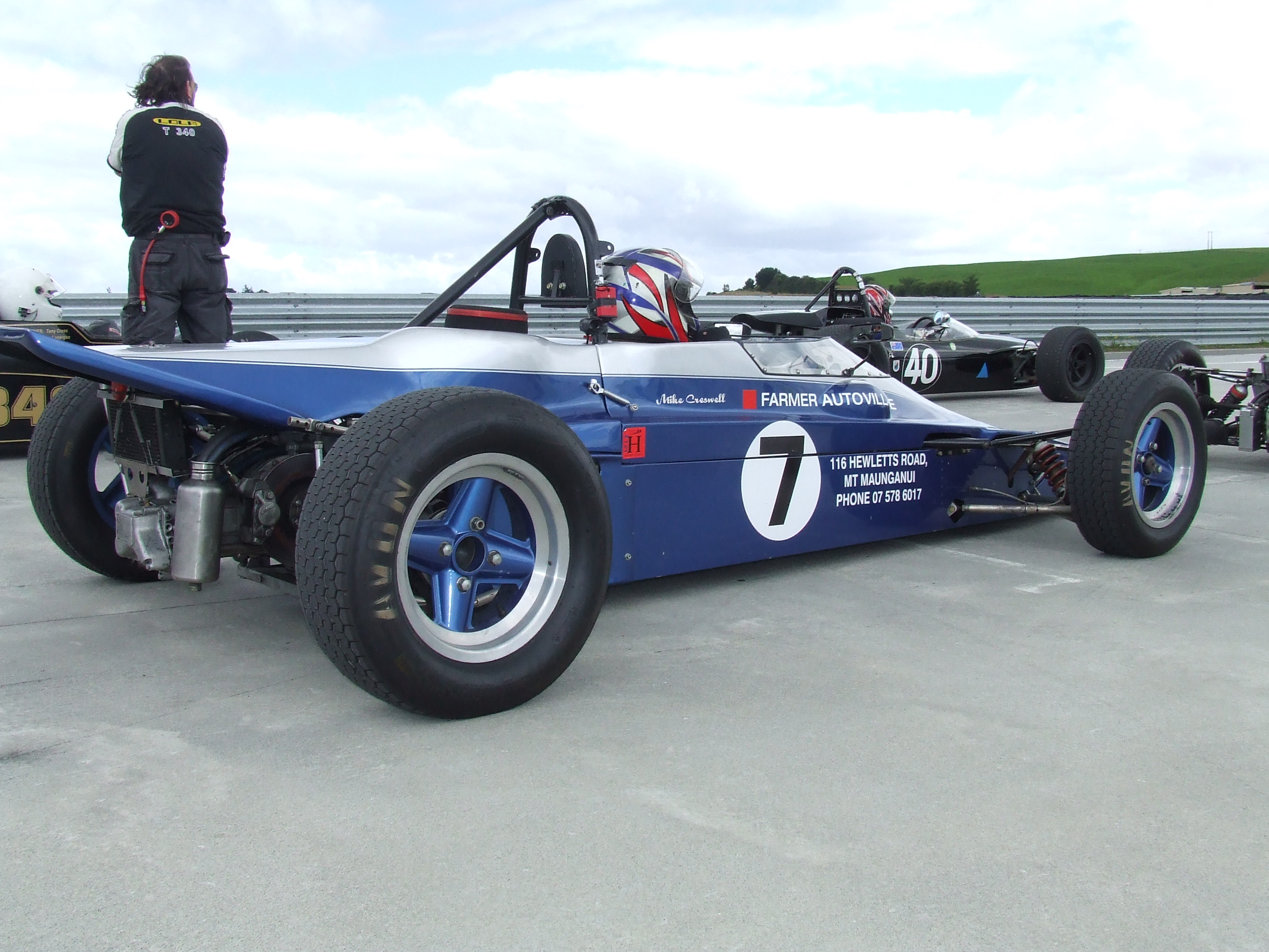 On the Grid: Taupo - Historic Formula Ford Racing